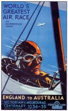 MacRobertson Air Race Poster 1934