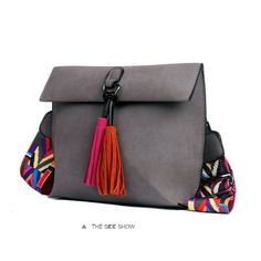 9a37d7b699f2 2018 New Women Messenger Bag Tassel Crossbody Bags For Girls Shoulder Bags  Female Designer Handbags Bolsa Feminina Bolsos Muje.