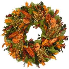 Bodacious Indian Summer Protea Wreath