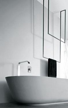 Choose from a wide range of luxury bathroom accessories by antoniolupi. antoniolupi project and sells luxury and modern bathroom accessories. Design Your Own Bathroom, Bathroom Interior Design, Bath Design, Modern Interior Design, Diy Interior, Design Bedroom, Minimalist Home Decor, Minimalist Interior, Modern Minimalist