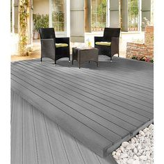 Innovativ RELAZZO WPC Terrassendiele RELAZZO puro, Oberfläche riva, Farbe  HG03