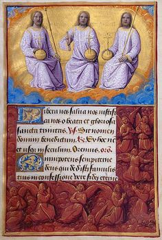 The Morgan Library & Museum Online Exhibitions - Hours of Henry VIII - Trinity by Jean Poyer