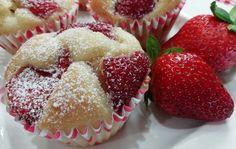 Najlepšie hrnčekové muffiny s jahodami a tvarohom, rýchly RECEPT Tiramisu, Ham, Diy And Crafts, Muffins, Cheesecake, Food And Drink, Cupcakes, Sweets, Breakfast