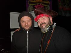 NYE & NYD in Milan 2014 / 2015 me and Yan Synthetik Chaos