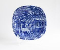 Rorstrand 1980 Christmas Collectors Plate Gunnar by WellPlated