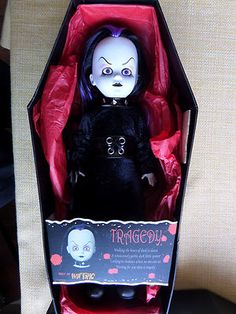 Living Dead Dolls Tragedy Hot Topic Exclusive Mezco Goth