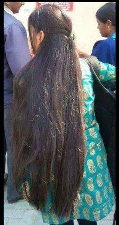 #SilkySmoothHair Long Silky Hair, Silky Smooth Hair, Long Black Hair, Super Long Hair, Thick Hair, Indian Long Hair Braid, Braids For Long Hair, Curly Hair, Open Hairstyles