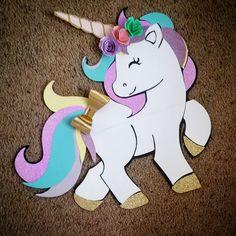 Unicorn: Free Party Kit to Print - Inspire Your Fes - Unicorn - Festa Party Unicorn, Unicorn Baby Shower, Unicorn Birthday Parties, Birthday Party Decorations, Party Themes, Little Unicorn, Cute Unicorn, Rainbow Unicorn, Party Kit