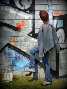 Total Denim Look | Double Denim Trouble & All About You - Funky Jungle, fashion & personal style blog