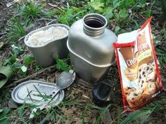 Baking in a Canteen Cup
