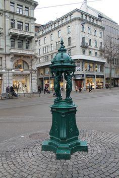 Bahnhofstrasse , Zürich http://nouhaillerphoto.blogspot.com/2013/03/bahnhofstrasse-zurich.html