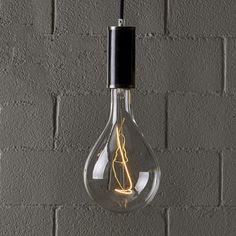 Na trhu nenájdete väčšie žiarovky ako sú tie naše Retro, Light Bulb, Sconces, Wall Lights, Led, Lighting, Vintage, Home Decor, Chandeliers