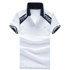 Tommy Hilfiger Polo Shirts Men Short Mens Polo T Shirts, Slim Fit Polo Shirts, Cut Shirts, Golf Shirts, Mens Sweatshirts, Casual Shirts For Men, Shirt Men, Polo Shirt Design, Polo Design