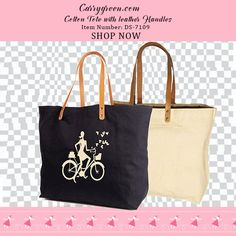10 oz. Cotton Bag with leather handles Item Number: DS-7109 #cottonbags #cottontotes #bags #totes #bag #tote #stylishbag #weddingbags #guestfavorbags #weddingbags #weddingwelcomebags #totes #leatherhandlebags #cottonbagwithleatherhandles #giftbags #totes #leatherhandletotes