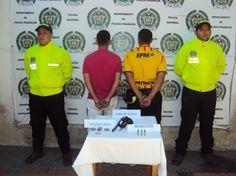 Capturados en flagrancia por porte ilegal de armas en Marsella