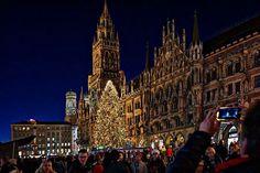 Weihnachten 2013 am Marienplatz Munich Photo by Volker Schenk -- National Geographic Your Shot