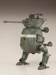 TINAMI - [モデル]Q式二足歩行戦車
