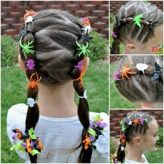 10 Very Creative Halloween Hairstyles For Girls