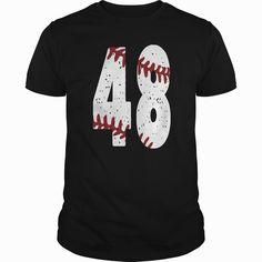 Baseball number 48  0816, Order HERE ==> https://www.sunfrog.com/LifeStyle/Baseball-number-48--0816-Black-Guys.html?41088 #baseball #baseballlovers