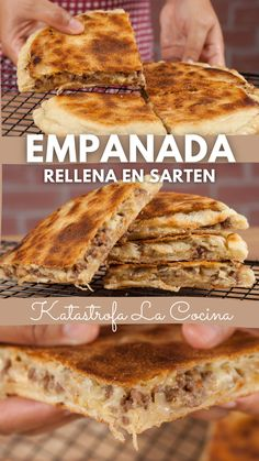 Mexican Food Recipes, Beef Recipes, Snack Recipes, Cooking Recipes, Kitchen Recipes, Empanadas, Comida Diy, Good Food, Yummy Food