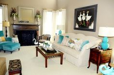 Kelly Kole, Residential Photo of Kim Schuessler in Family Room