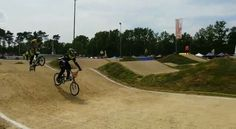 Sunday's bmx competition made it to the finals