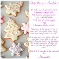 Christmas Cookies!!!!