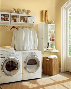 Reorganizar la lavandería