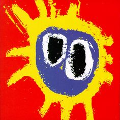 Primal Scream - Screamadelica The album cover for Screamadelica was painted by Creation Records' in-house artist Paul Cannell, who died in Famous Album Covers, Greatest Album Covers, Classic Album Covers, Lp Cover, Cover Art, Lps, Musik Illustration, Pop Art, Mazzy Star