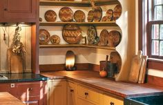 8 Ways to Design a Kitchen for an Early House - Old House Restoration, Products