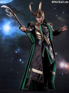 The Avengers: Loki - Deluxe Figur, Fertig-Modell ... http://spaceart.de/produkte/tav004.php