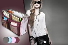 GREAT Deal on WOWCHER for Handbag Organiser!