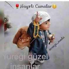 Herkese hayirli cumalaar 😊 Happy Friday, Islam, Winter Hats, Crochet Hats, Cute, Deen, Spirit, Bright, Babies