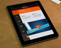 """Check out this @Behance project: """"kit digital iPad app"""" https://www.behance.net/gallery/3339401/kit-digital-iPad-app"""