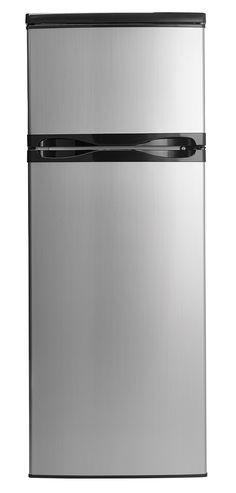 This refrigerator is advertised as an apartment size refrigerator, but it can easily work as a second refrigerator, a break room refrigerator, or a mini-fridge. The additional storage and features make this an extremely versatile compact fridgerator. Dorm Fridge, Apartment Size Refrigerator, Compact Refrigerator, Top Freezer Refrigerator, Door Shelves, Glass Shelves, Door Hinges, Doors, Mini Fridge