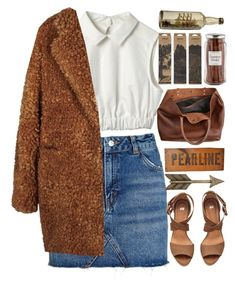 """comfy chic teddy bear coat"" by daraipetra19 ❤ liked on Polyvore featuring Topshop, Williams-Sonoma, H&M, Monserat De Lucca, Patina Vie, Dot & Bo, Jayson Home and teddybearcoats"