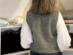Hverdagsvesten - FiftyFabulous Vest Pattern, Knitwear, Knitting Patterns, Sport Outfits, Streetwear, Derby, My Favorite Things, Crochet, Tees