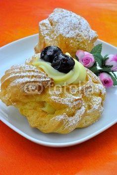 Bignè alla crema - Bignè di San Giuseppe