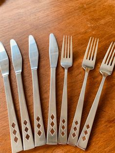 Stainless Steel Pickle Fork Vintage 1960s Korea Stainless Fork