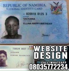 Shocking & Funny Names On Zambian Identity Cards (Photos)   These pictures are as shared by a friend. It makes me wonder what really happened to warrant such a blunder! Or is this a norm.  Funny names!                   . >>> See More >>>http://u.to/MCygDw  ***************  *Now is the time to get great Website Design. .. Call/Whatsapp 08035772234