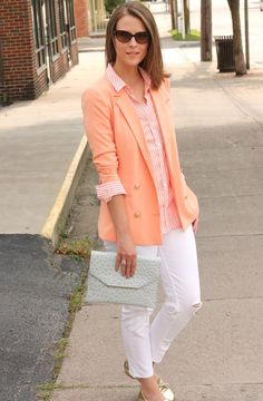 LOVE this outfit, with more tailored pants and neutral flats would be killer for work!