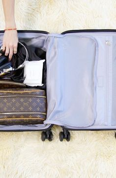 Rachel Zoe knows thatevery inch of space inyour carry-on counts (to fit all your valuables, plus your must-haves in case your luggage is lost). We tapped our glam EIC forthe 411 on what she brings on board and how she fits it allinto aTSA-approved suitcase. If your summer calendar includes getting on a plane, be sure to watch this video to score a streamlined strategy froma world-class jet-setter.