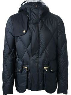 Moncler Gamme Bleu Quilted Feather Down Jacket - Luisa World - Farfetch.com