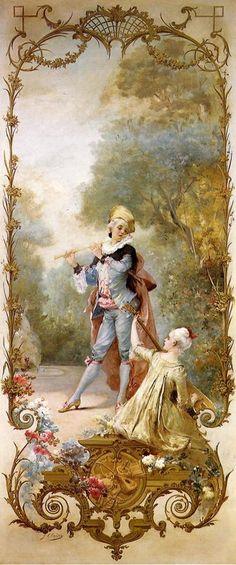 Georges Jules Victor Clairin (1843-1919) — Elegance (668×1600)