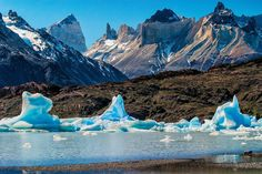Torres del Paine, Chile - by Marcelo Plaza.