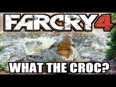 Far Cry 4 (What the Croc!) #farcry4 #crocodile #ubisoft #twitch