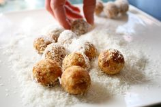 3 step, 3 ingredient probiotic apricot balls.