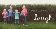 Laugh Brand -- With every purchase of Laugh's designer children's apparel we will give back 30% of our profits to fight child trafficking and exploitation.