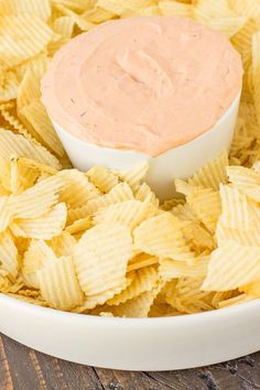 Easy Potato Chip Dip Recipe