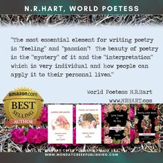 Valentine's Day is coming ♥️ Our Bestselling Author @n.r.hart Follow on insta @n.r.hart www.nrhart.com www.mondaycreekpublishing.com #worldpoetess #bestsellingpoet #nrhart #bestsellingauthor #bestseller #poetry #lovepoems #valentinesgift #romance